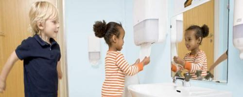 Hygiene in nursery schools